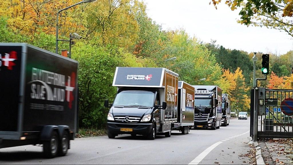 Her ses hele Flyttefirma Sjællands vognpakke