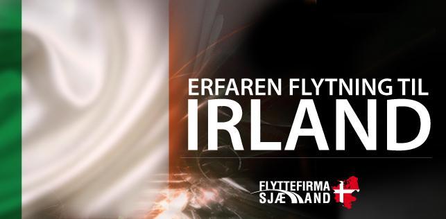 Lad os hjælpe dig med din flytning til Irland