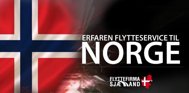 Brug for et professionel flyttefirma til din flytning til eller fra Norge, så tag kontakt idag.