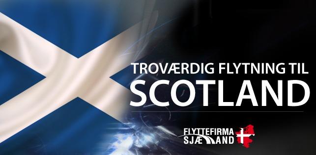 Flytning til og fra Skotland med månedlige afgange