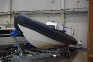 Opbevaring af speedbåd