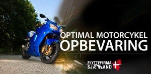 Motorcykel-Opbevaring