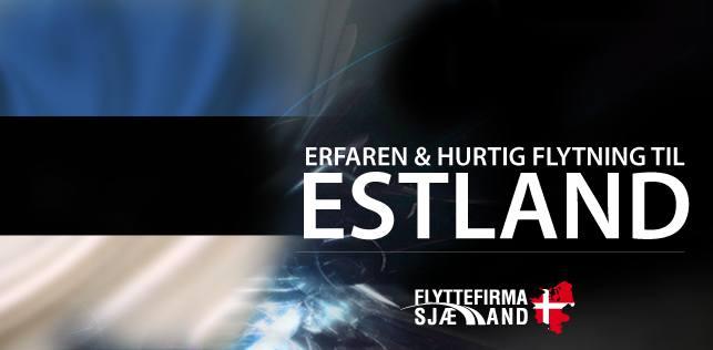 Flytning til eller fra Estland