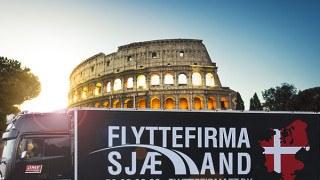 Colosseum med flyttefirma sjælland