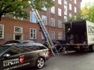 Flytteforretning Sjælland på Frederiksberg