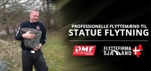 Vores Flyttemand er altid Professionel i hver flytning af statuer