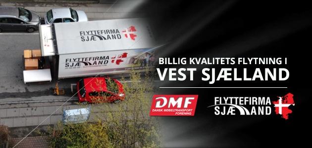 Billig flytning i Vest Sjælland