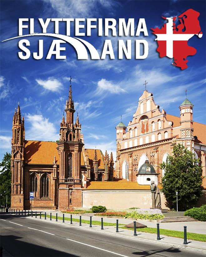 St. Anne's Kirke i Litauen