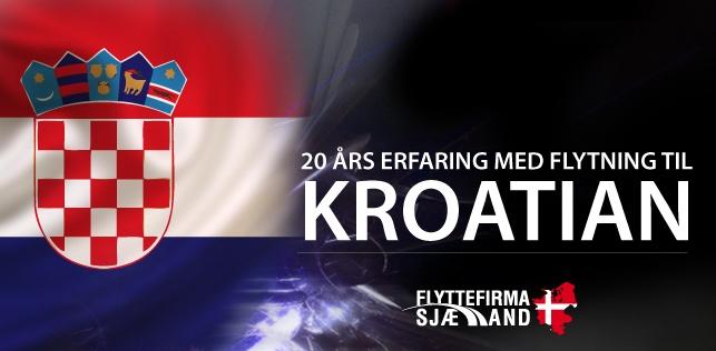Billig flytning til eller fra kroatien
