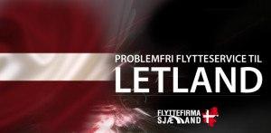 Billig Flytning til eller fra Letland