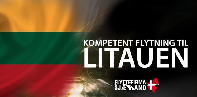 Billig flytning til eller fra Litauen