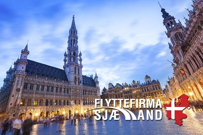 En by i Belgien
