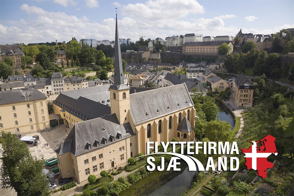 Gammel kirke i Luxembourg