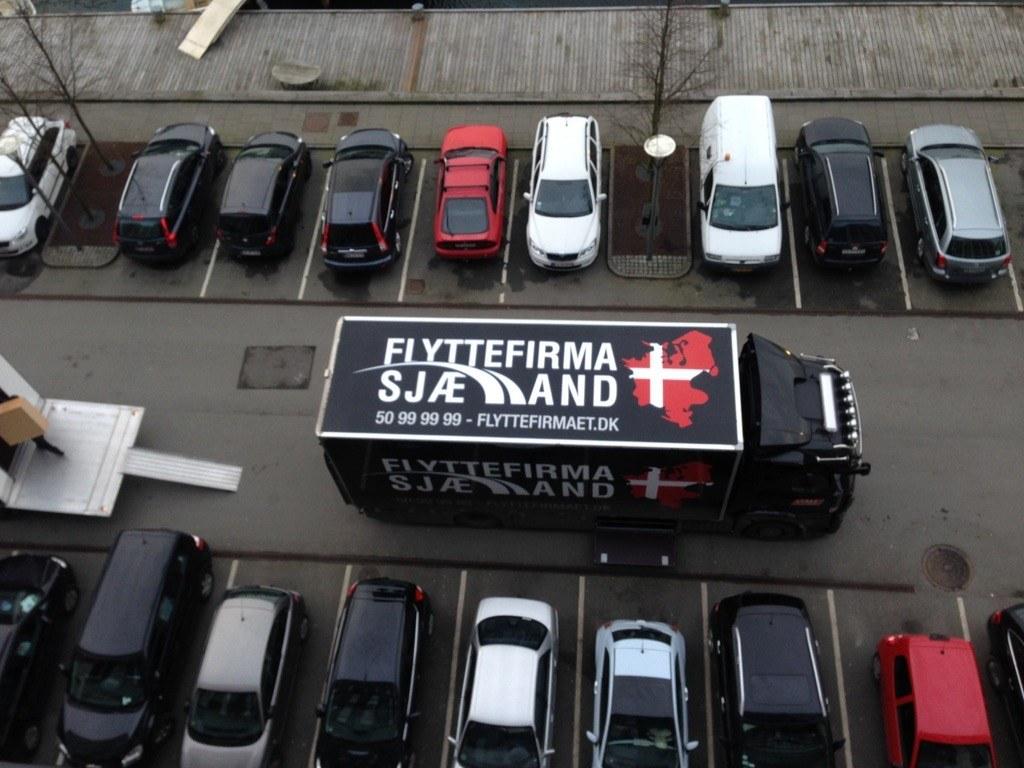 Flyttefirma Sjælland på Flytning