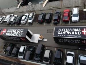Gigaspace & Flyttebil igang