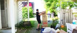Flytning af hus