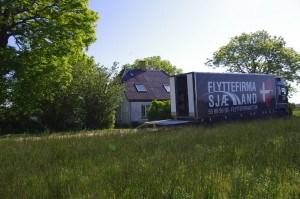 Flytning ude på landet med Flyttefirma Sjælland
