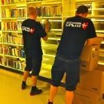 Nedpakning af Bibliotek