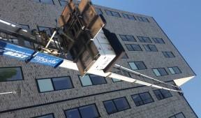 Flyttelift opsat til 6 sal i København