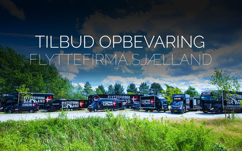 Flyttefirmaet cover TILBUD OPBEVARING