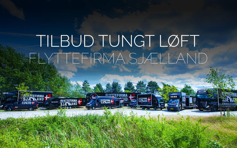 Flyttefirmaet cover TILBUD tung løft