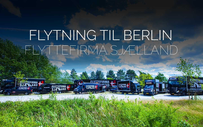 Flyttefirmaet cover Flytning til Berlin