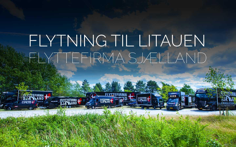 Flyttefirmaet cover Flytning til Litauen