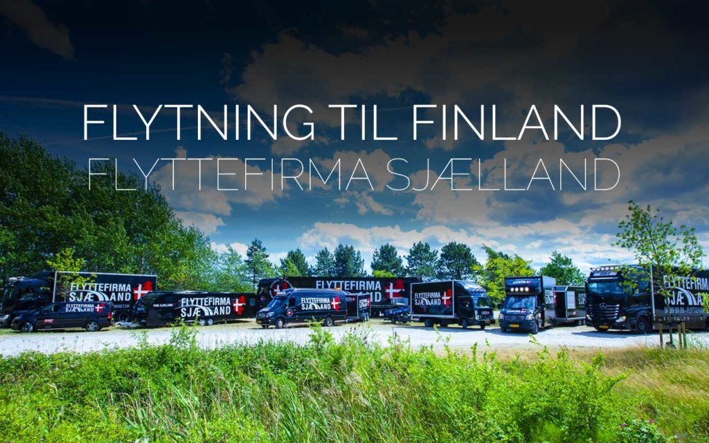 Flyttefirmaet cover Flytning til finland