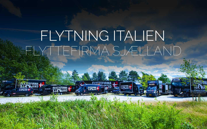 Flyttefirmaet cover flytning italien