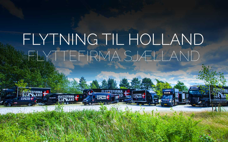 Flyttefirmaet cover flytning til holland
