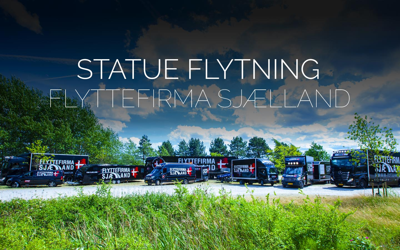 Flyttefirmaet cover statue flytning