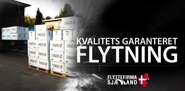 Hos Flyttefirma Sjælland levere vi altid kvalitets garanteret flytninger for vores kunder