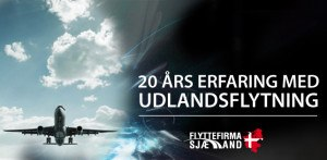Flyttefirma Sjælland har over 20 års erfaring med udlandsflytning.